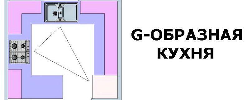 ДИЗАЙН КУХНИ: G-ОБРАЗНАЯ КУХОННАЯ ПЛАНИРОВКА